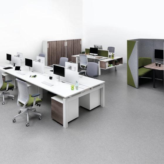 mint office system desking