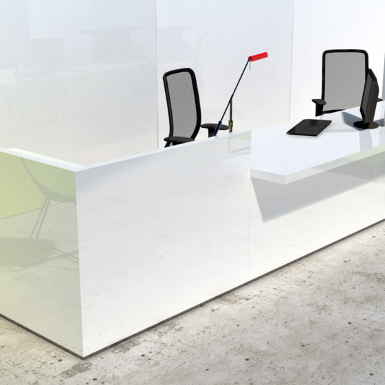 mint office furniture environment reception desk