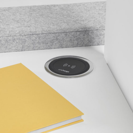 mint office furniture wireless charge pad