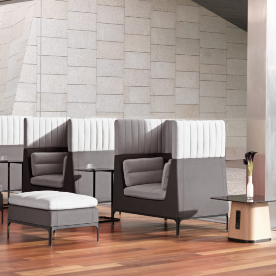 mint office furniture environment soft chairs